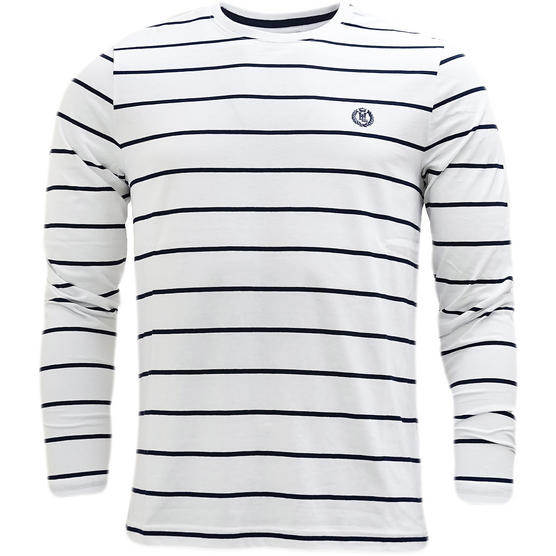 Henri Lloyd Striped Long Sleeve T-Shirt Bretton Thumbnail 4