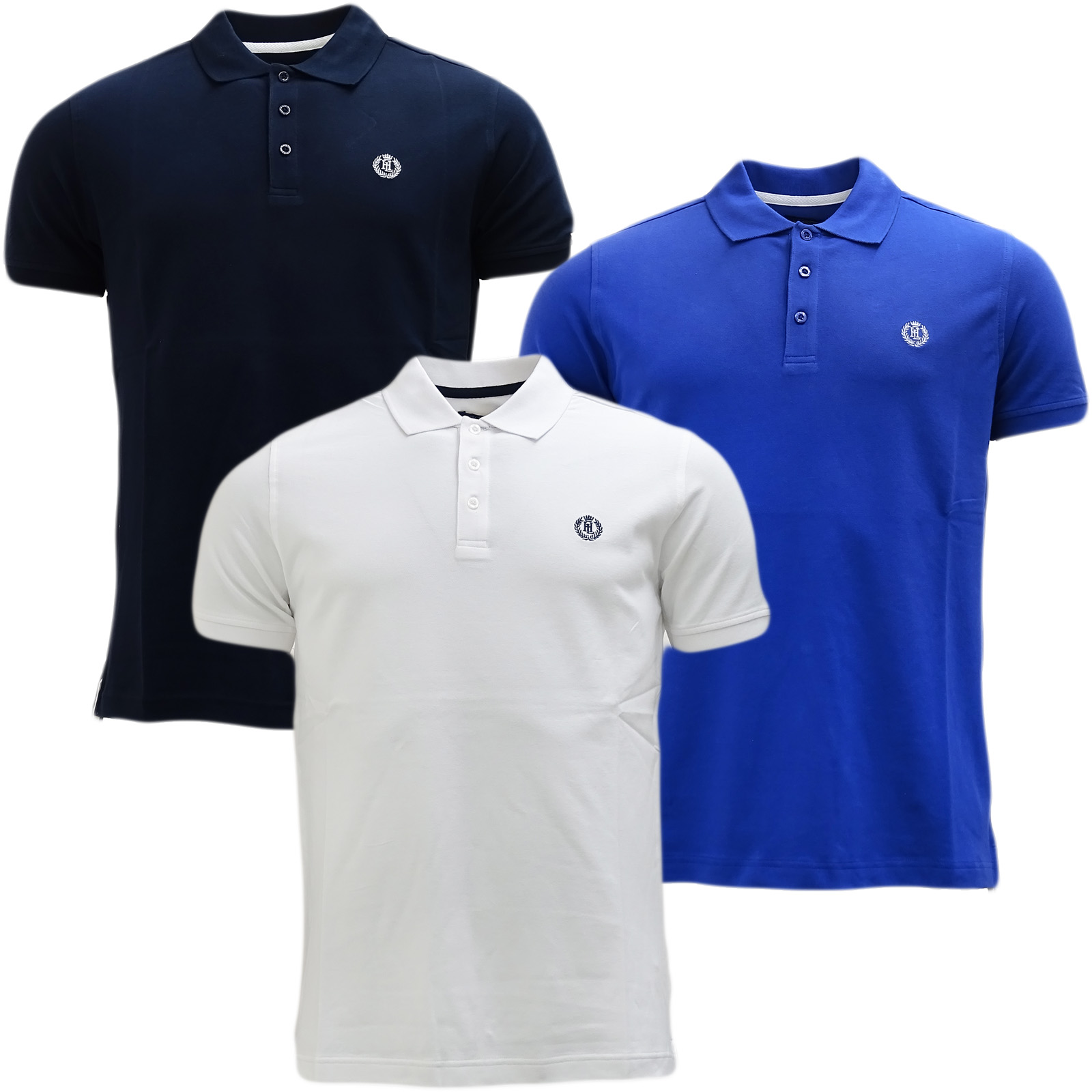 Henri Lloyd Plain Stretch Polo Shirt Cowes 18