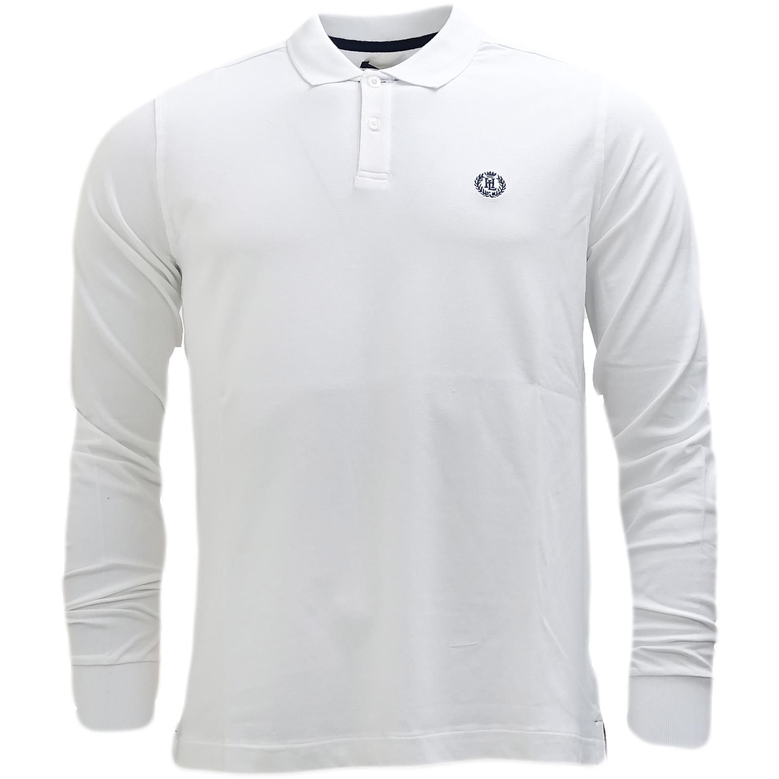 ea6119c93 Henri Lloyd Plain Lightweight Long Sleeve Polo Shirt - Musburry | eBay