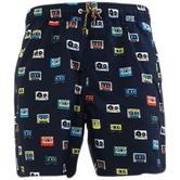 Original Penguin Dark Sapphire Reversible Swim Shorts 8000-413 -