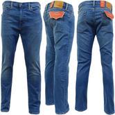 Levi Strauss Huxley Mid Blue Stretch 510 Skinny Leg Jean 07-65 -