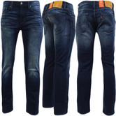 Levi Strauss Nightmare Indigo Blue With Fading 511 Slim Leg Jean Indigo -