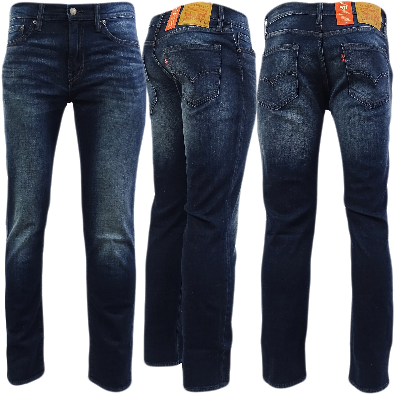 Levi s Men s 511 Slim Fit Jeans Blue 33w X 34l  9ddf90a8b6bfc