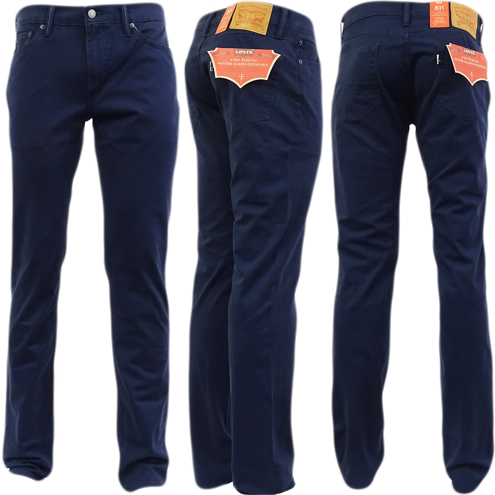 1a739c66eb8 Levi s 511 Slim Fit Men s Jeans Nightwatch Blue Bistro W34 L34 for ...