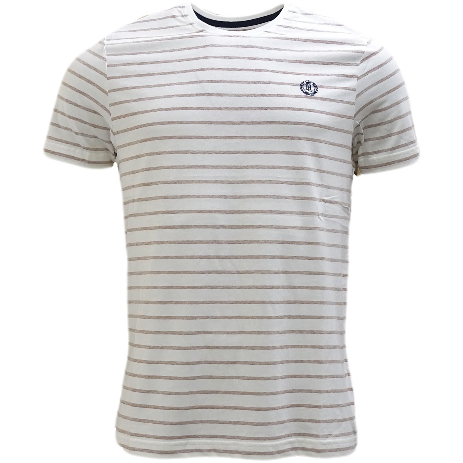 Henri Lloyd Ecru - Wrs Stripe T-Shirt Bretton -