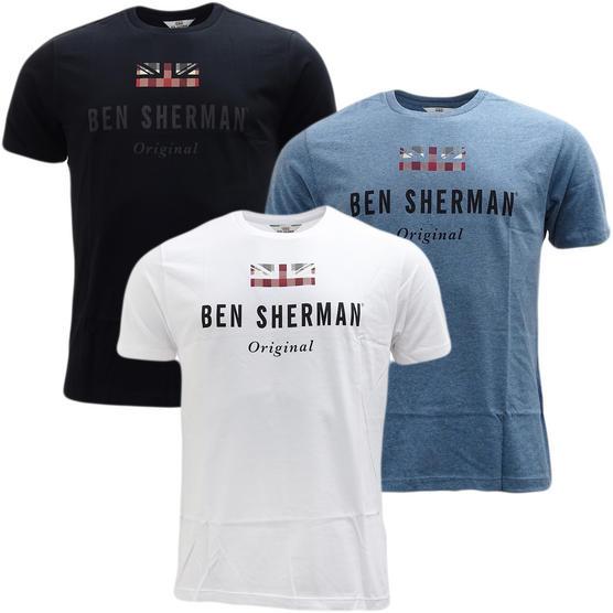 Ben Sherman Union Jack Logo T-Shirt 47813 Thumbnail 6