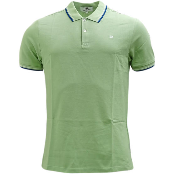 Ben Sherman Twim Tipping Collar Pique Polo Shirt 47811 Thumbnail 2