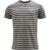 Levi Strauss Taupe Anchor Stripe T-Shirt 29813-0043 -