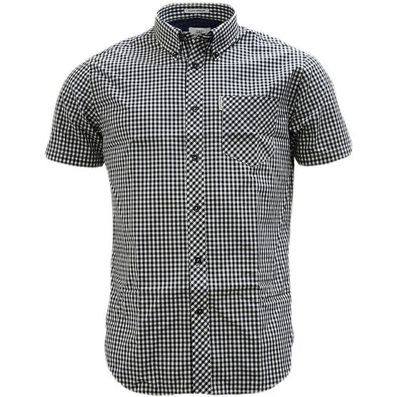 Ben Sherman Button Down Gingham Check Shirt 47949 Thumbnail 9