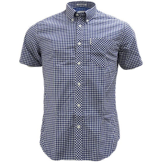 Ben Sherman Button Down Gingham Check Shirt 47949 Thumbnail 2