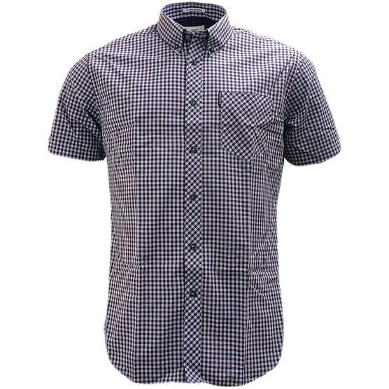 Ben Sherman Button Down Gingham Check Shirt 47949 Thumbnail 6