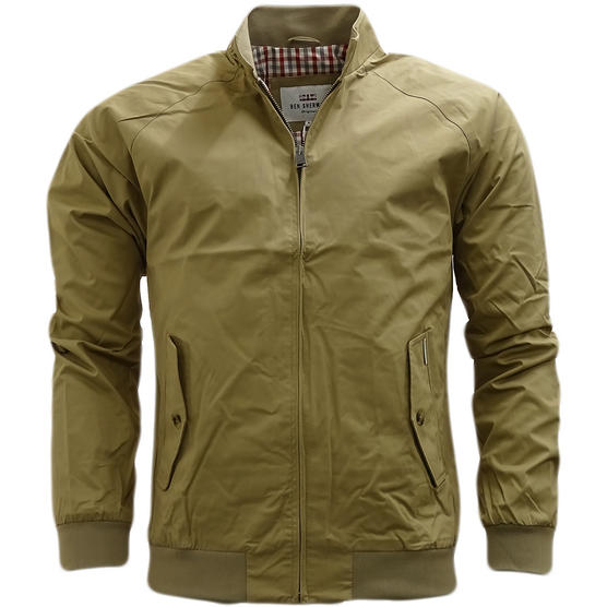 Ben Sherman Lightweight Harrington Coat With Gingham Lining Jacket 47822 Thumbnail 11