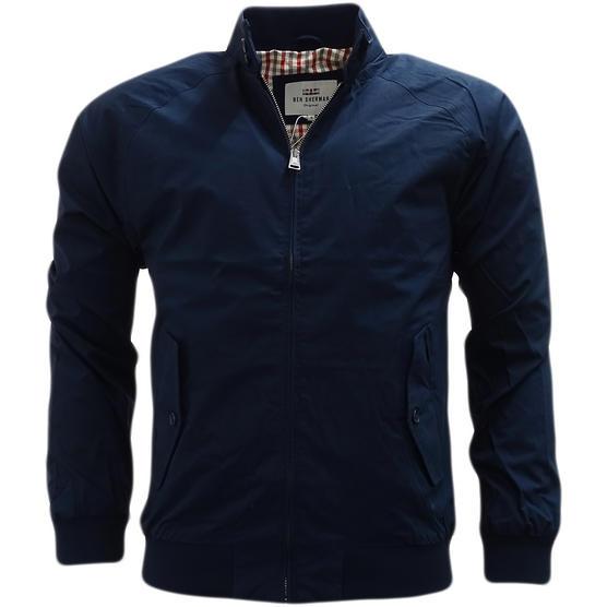 Ben Sherman Lightweight Harrington Coat With Gingham Lining Jacket 47822 Thumbnail 2