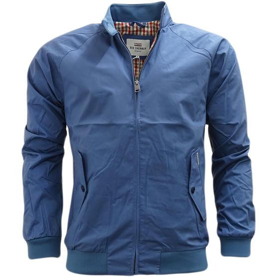 Ben Sherman Lightweight Harrington Coat With Gingham Lining Jacket 47822 Thumbnail 5