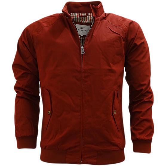 Ben Sherman Lightweight Harrington Coat With Gingham Lining Jacket 47822 Thumbnail 8