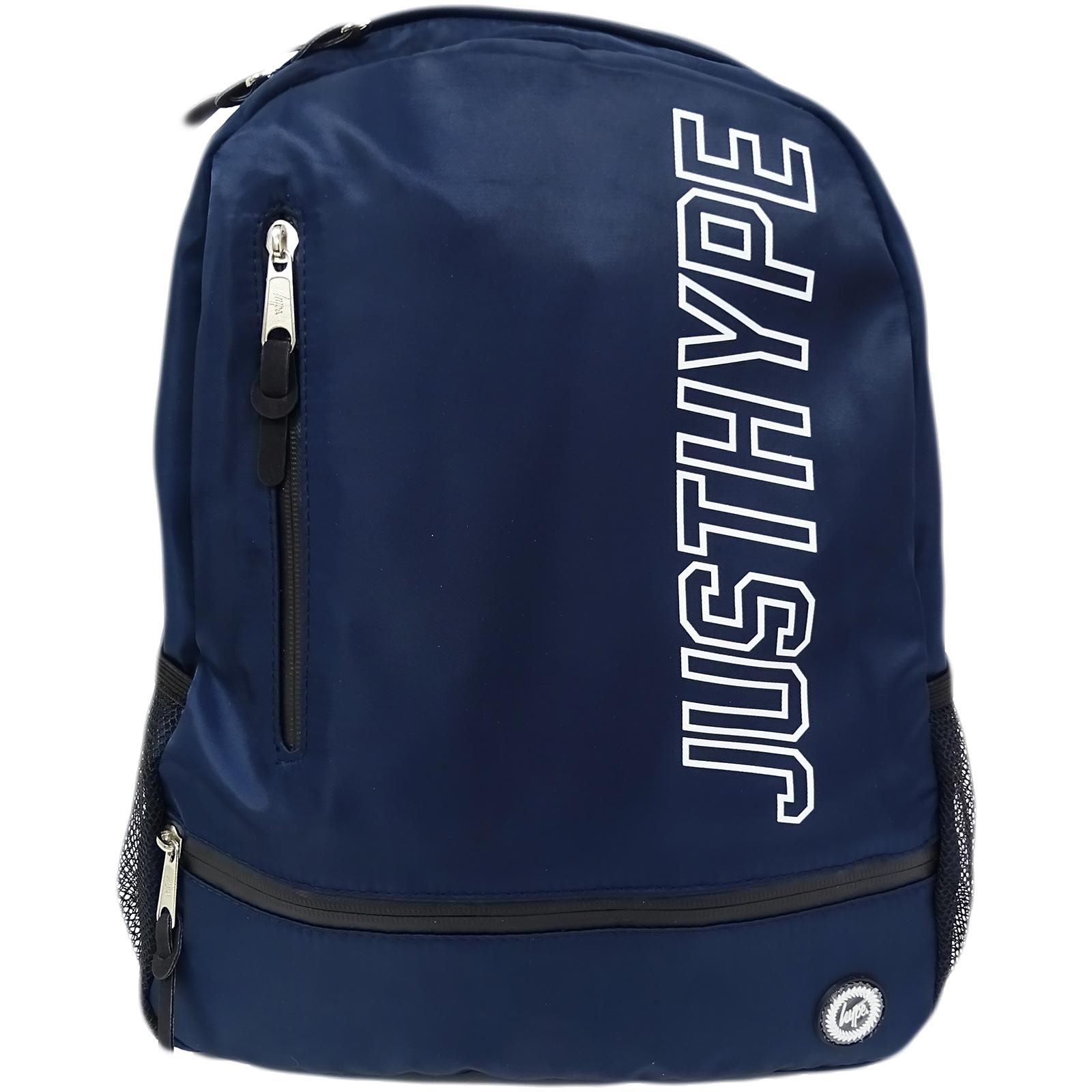 Hype Navy Rucksack   Backpack Bag - Justhype Urban 7106078627507  05768de811475