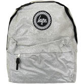 Hype Silver Rucksack / Backpack Bag Glitter