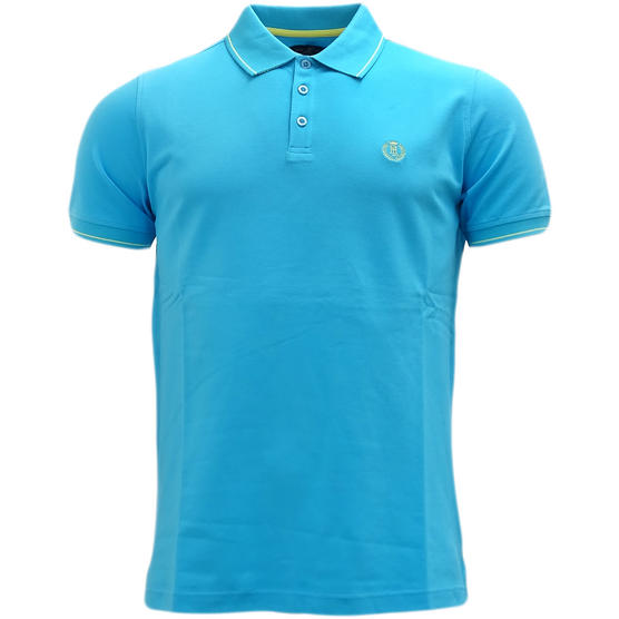 Henri Lloyd Plain Stripe Collar Stretch Polo Shirt Abington Thumbnail 2