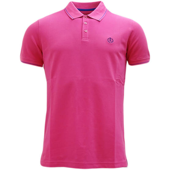 Henri Lloyd Plain Stripe Collar Stretch Polo Shirt Abington Thumbnail 4
