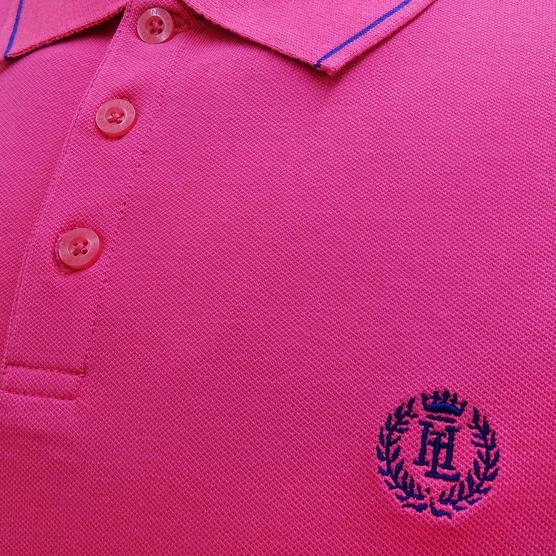 Henri Lloyd Plain Stripe Collar Stretch Polo Shirt Abington Thumbnail 5