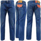 Levi Strauss Mid City Blue 502 Tapered Leg Jean 01-04 -