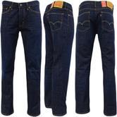 Levi Strauss The Rich Dark Blue 514 Straight Leg Jean 09-77 -
