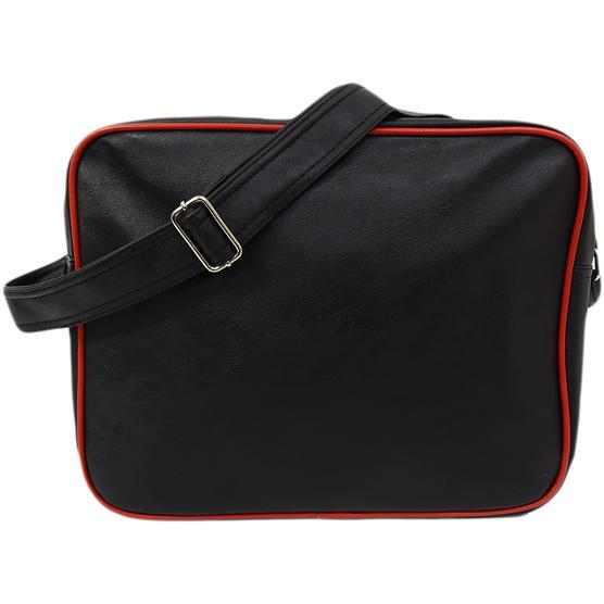 Ben Sherman Black / Red Record / Messenger Bag 11808 Thumbnail 2