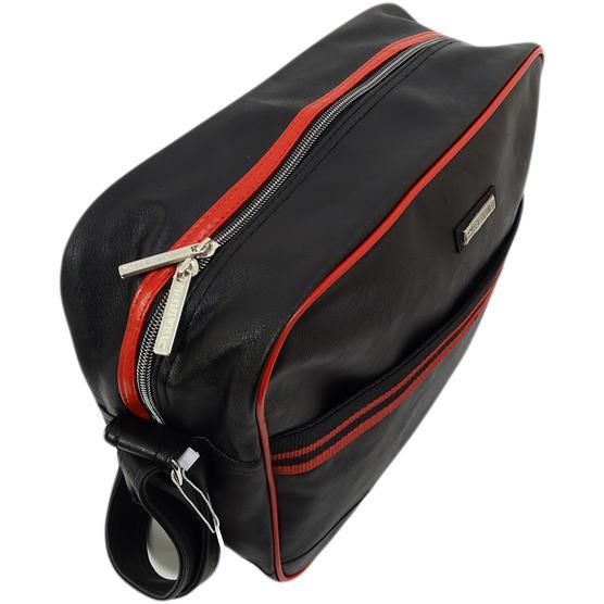 Ben Sherman Black / Red Record / Messenger Bag 11808 Thumbnail 3