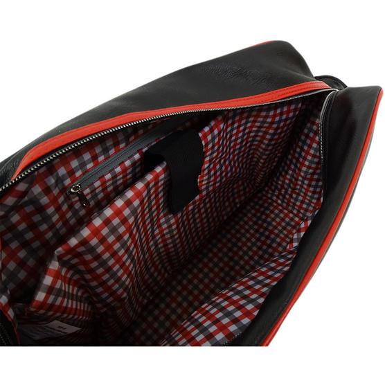 Ben Sherman Black / Red Record / Messenger Bag 11808 Thumbnail 4