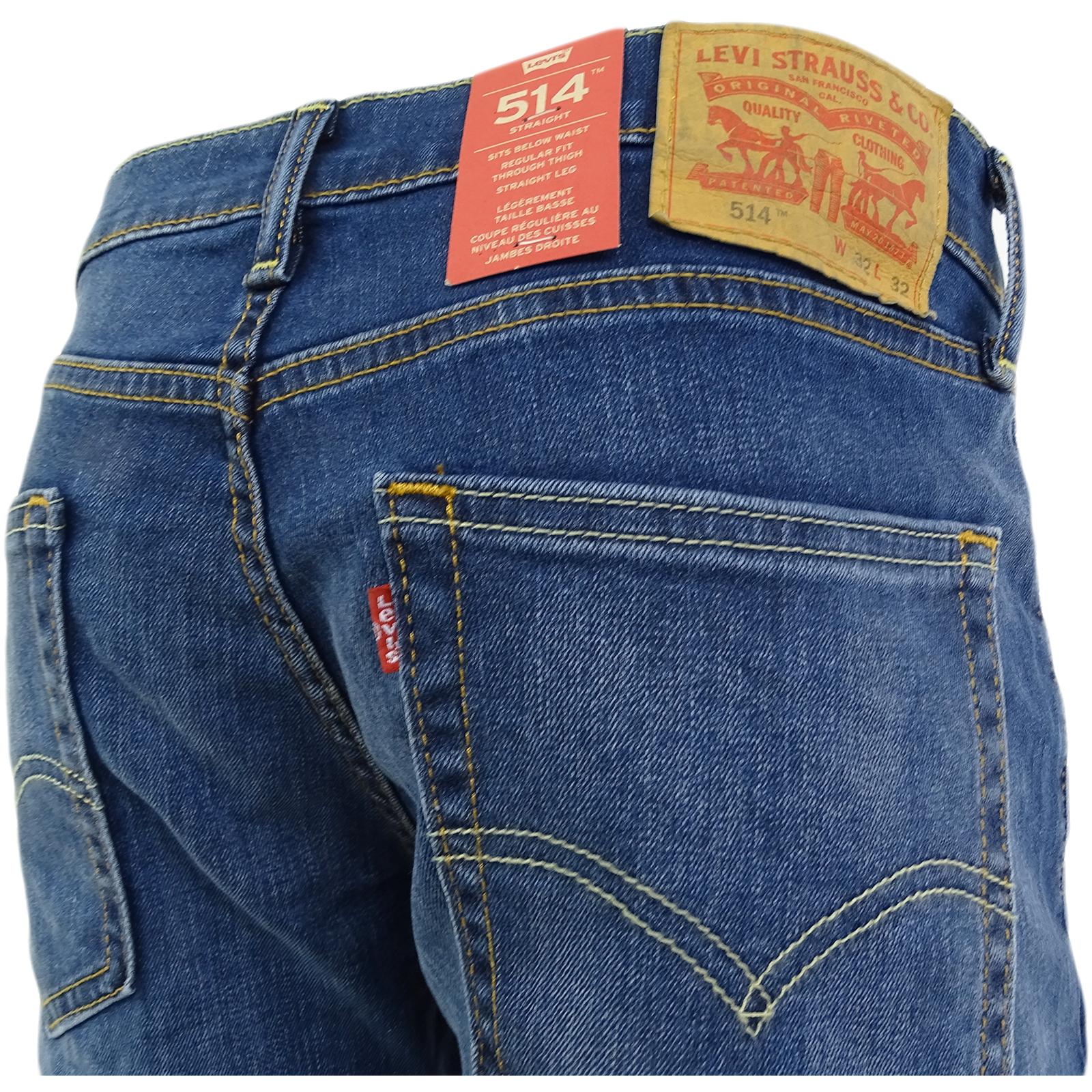 0c5fb8edc4 Sentinel Levi Strauss 09-78 514 Straight Leg Jean