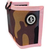 Hype Camo With Pink Trim Wallet / Card, Note Holder Camo Pink Trim