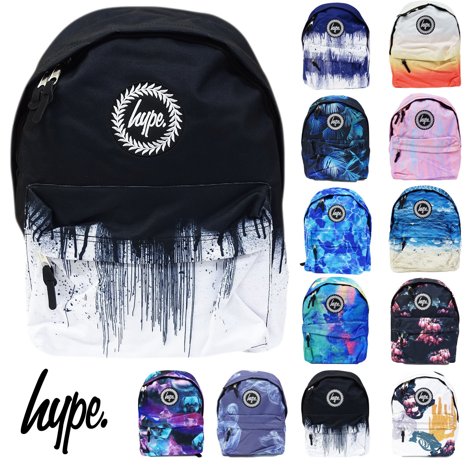 63f020a3e465 Sentinel Boys   Girls Hype Backpack Bags - HYPE BAG - School Rucksack