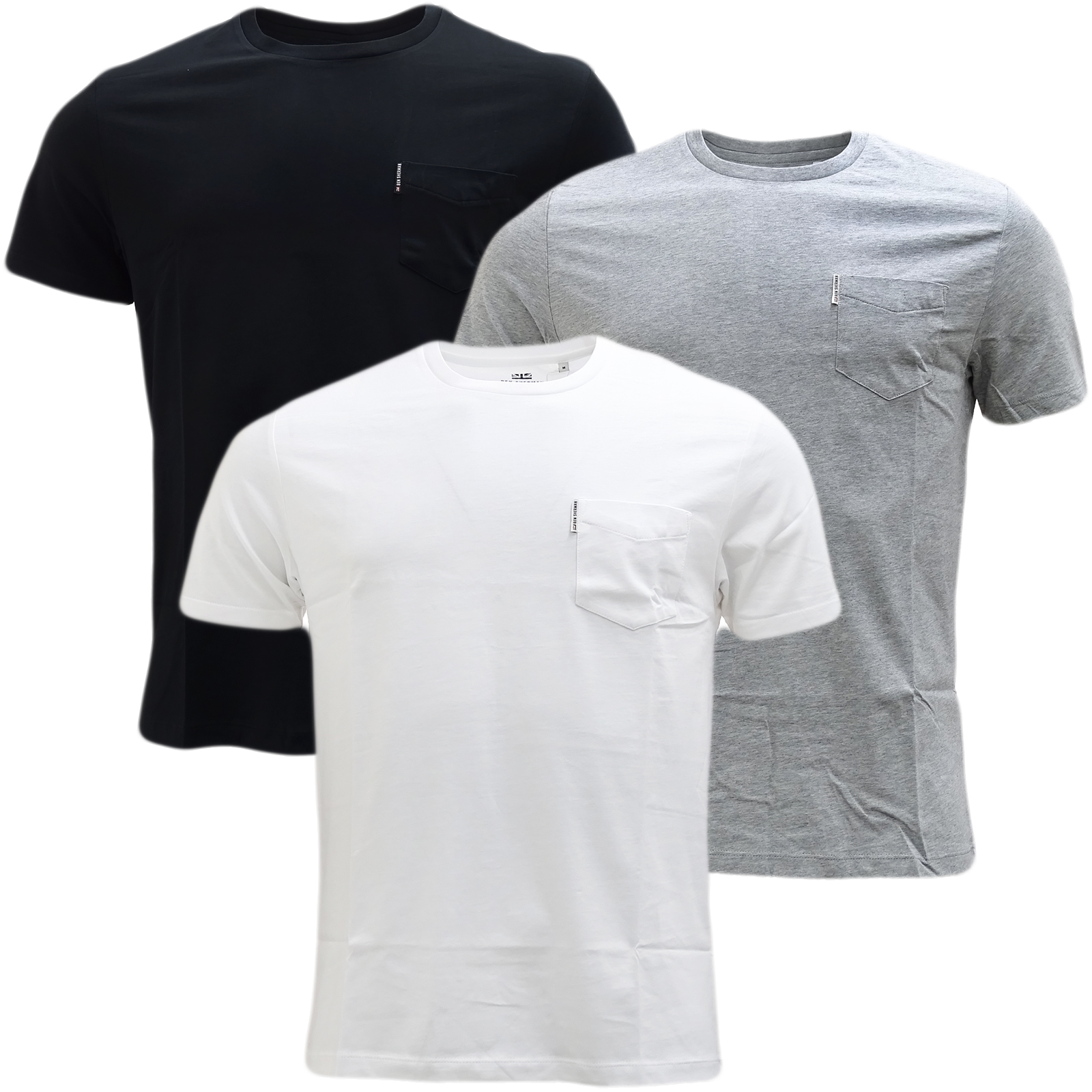 Ben Sherman Plain Pocket Chest T-Shirt 47843