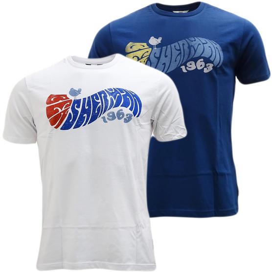 Ben Sherman Curve Logo T-Shirt 49074-150 Thumbnail 1