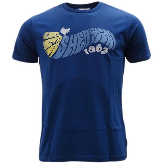 Ben Sherman Curve Logo T-Shirt 49074-150 Thumbnail 2