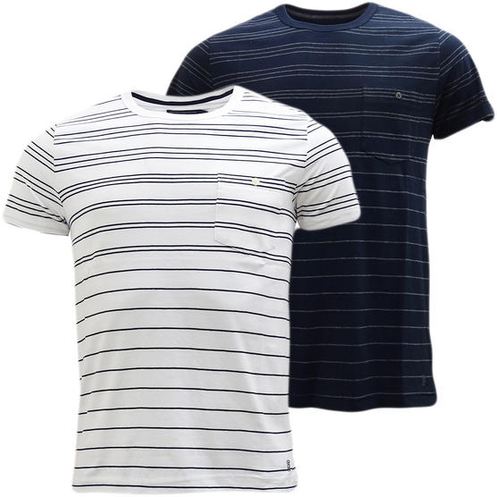 French Connection Thin Stripe With Top Pocket T-Shirt 56Szy Thumbnail 1