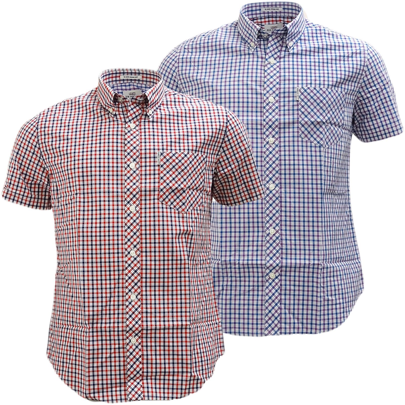 Ben Sherman Button Down Gingham House Check Shirt 47952