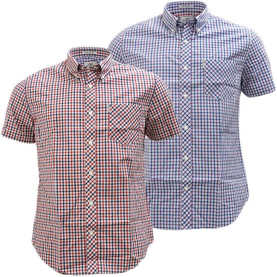 Ben Sherman Button Down Gingham House Check Shirt 47952 Thumbnail 1