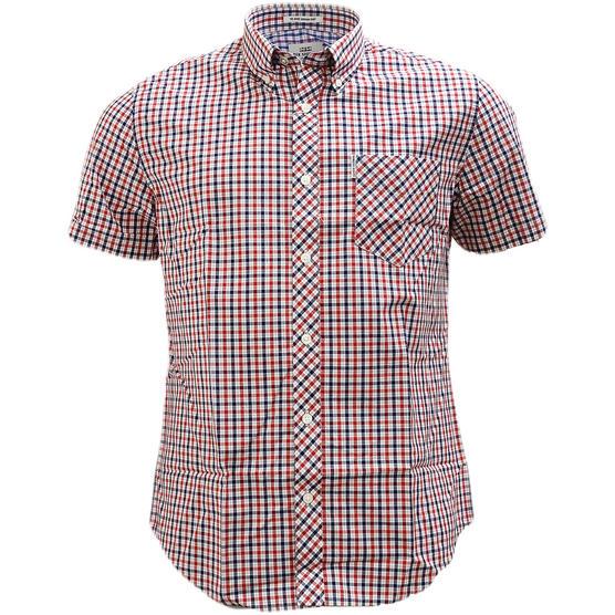 Ben Sherman Button Down Gingham House Check Shirt 47952 Thumbnail 2