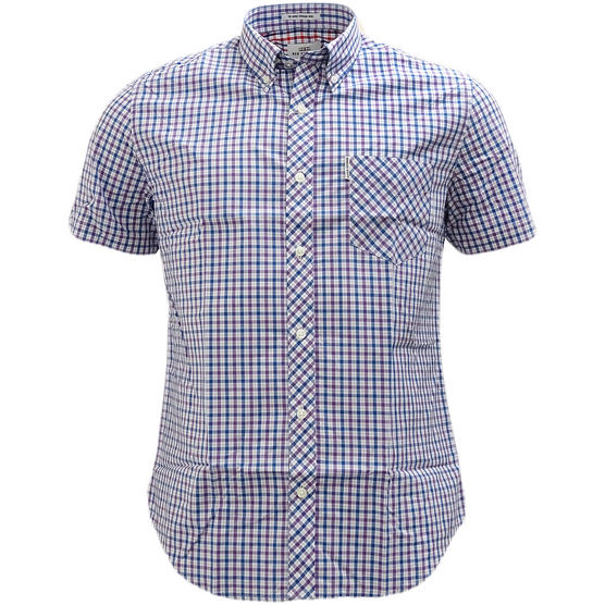 Ben Sherman Button Down Gingham House Check Shirt 47952 Thumbnail 5