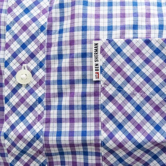 Ben Sherman Button Down Gingham House Check Shirt 47952 Thumbnail 7