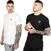 17 London Plain Tee With Stitched Logo T-Shirt Friar18