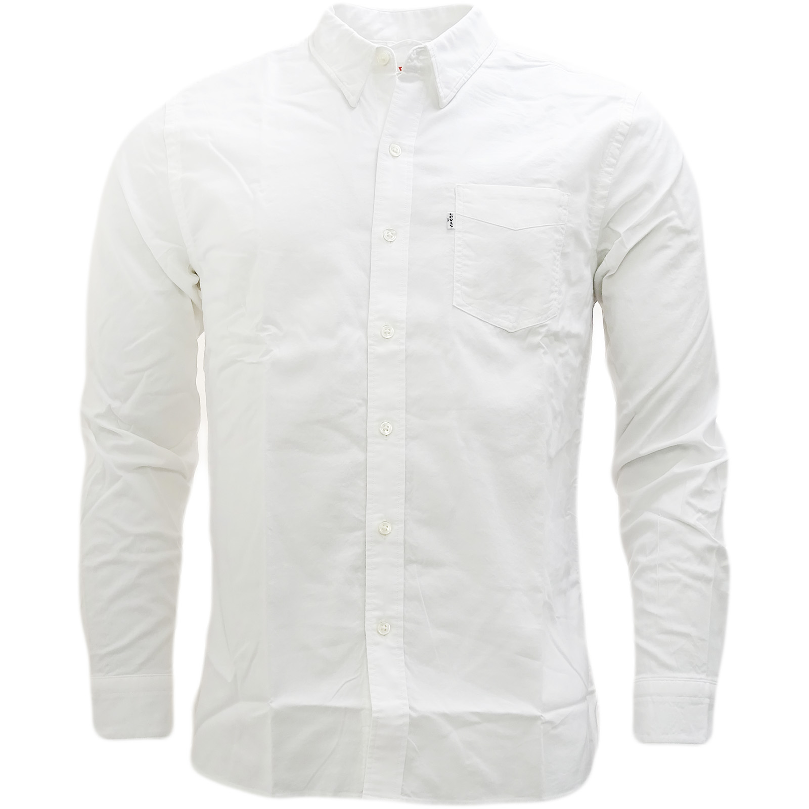 Shirts 36 Cotton Strauss White Oxford Shirt 03 65824 Levi Sentinel Plain aqg00S