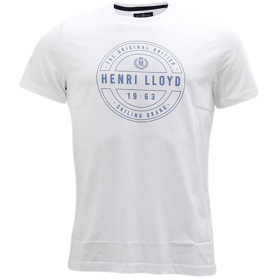 Henri Lloyd Chest Logo T-Shirt Hurst Thumbnail 2
