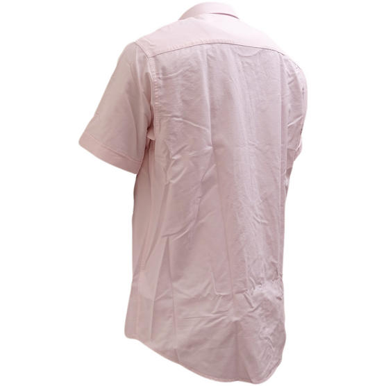 Henri Lloyd Pink Plain Button Down Oxford Shirt Club Ss - Thumbnail 2