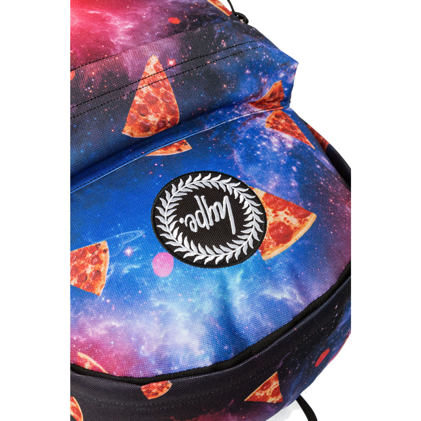 bd35b97a6e9 Sentinel Hype Space Pizza Pizza Logo Backpack   Rucksack Bag - Space Pizza  Multi