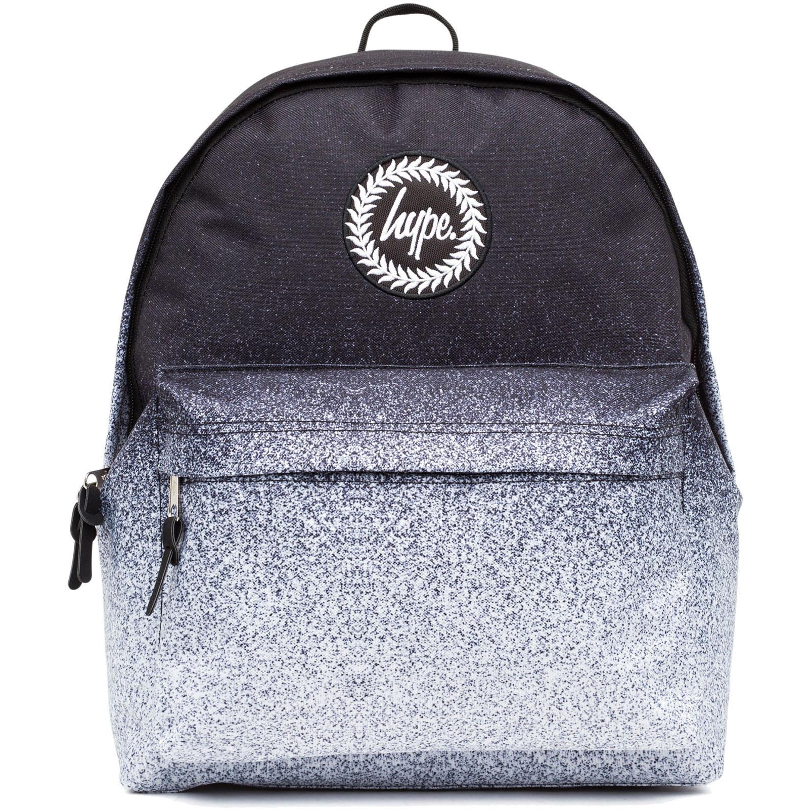 Sentinel Hype Speckle Fade Backpack   Rucksack Bag - Speckle Fade Black    White 019412b8bff0c