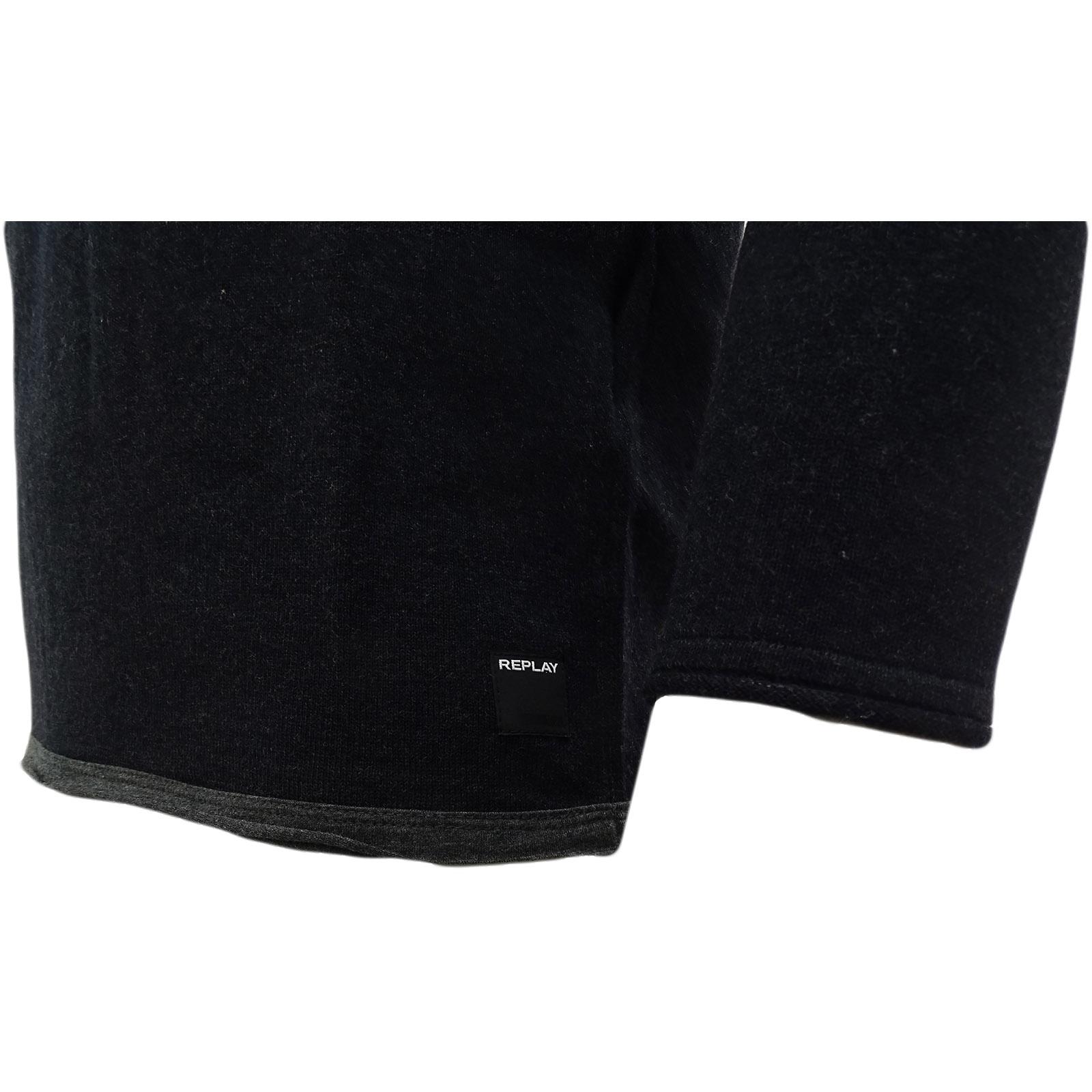 REPLAY Plain carbone facilmente LANA Plain REPLAY Jumper - 4055-m14 0f6d9b