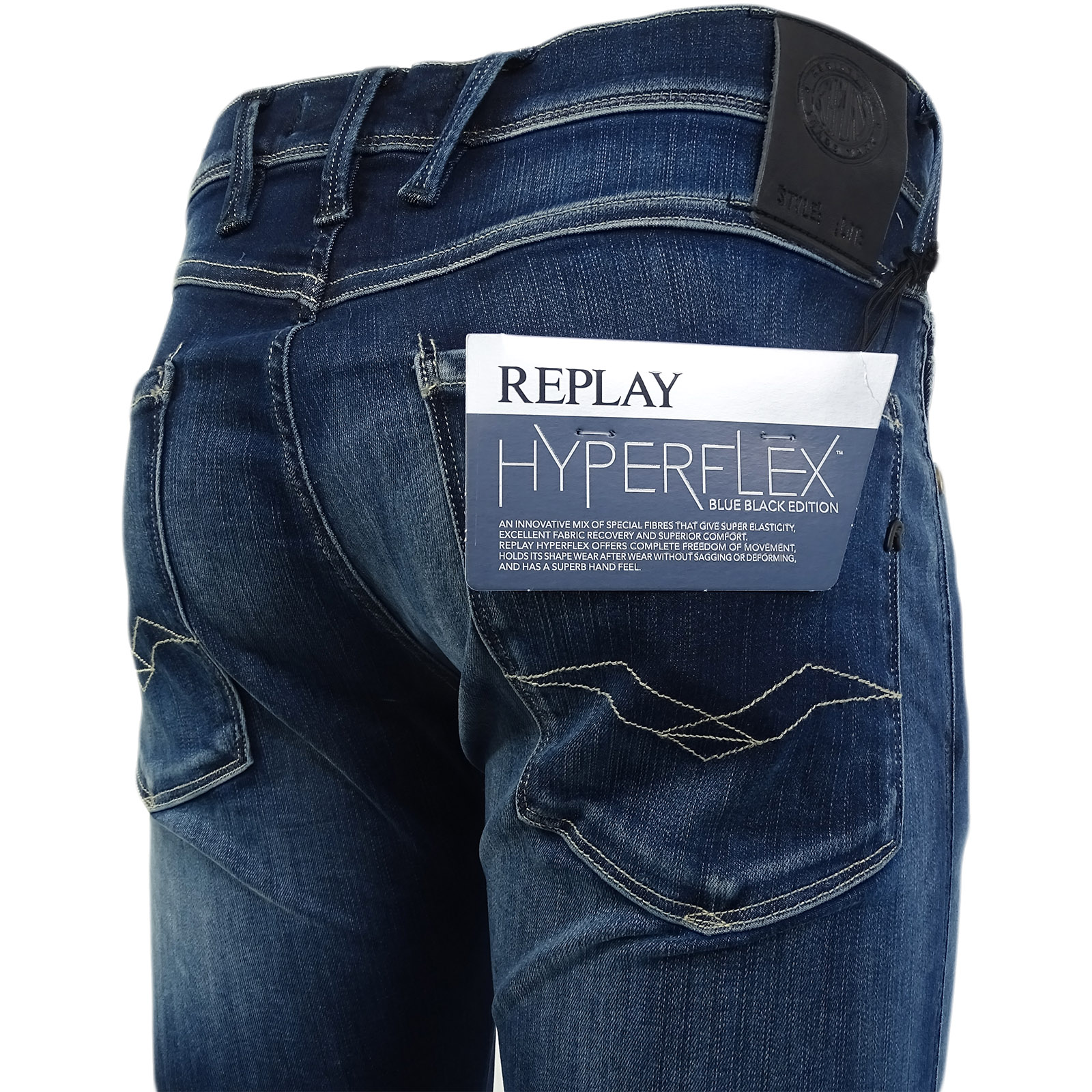 03613768 Sentinel Replay M914-661-02d Slim Fit Jean / Denim Pants