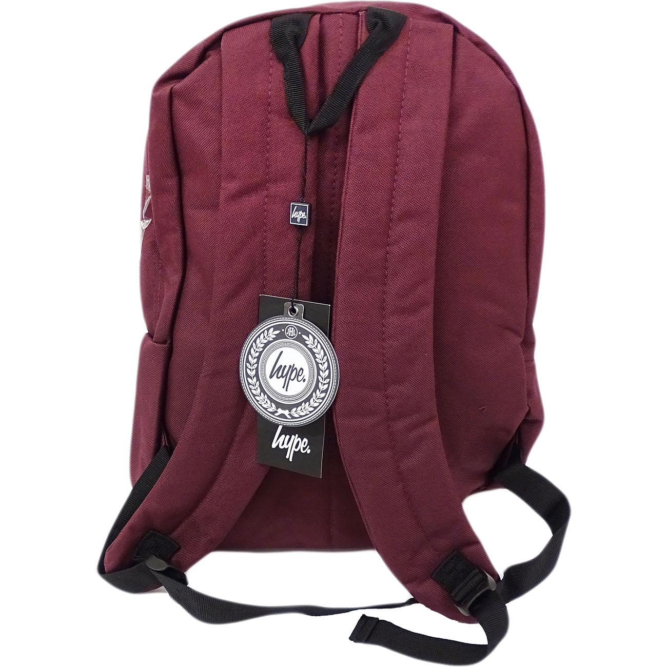 Unisexe-Hype-Sac-A-Dos-Ecole-Gym-SACS-pochettes-pencil-case miniature 150